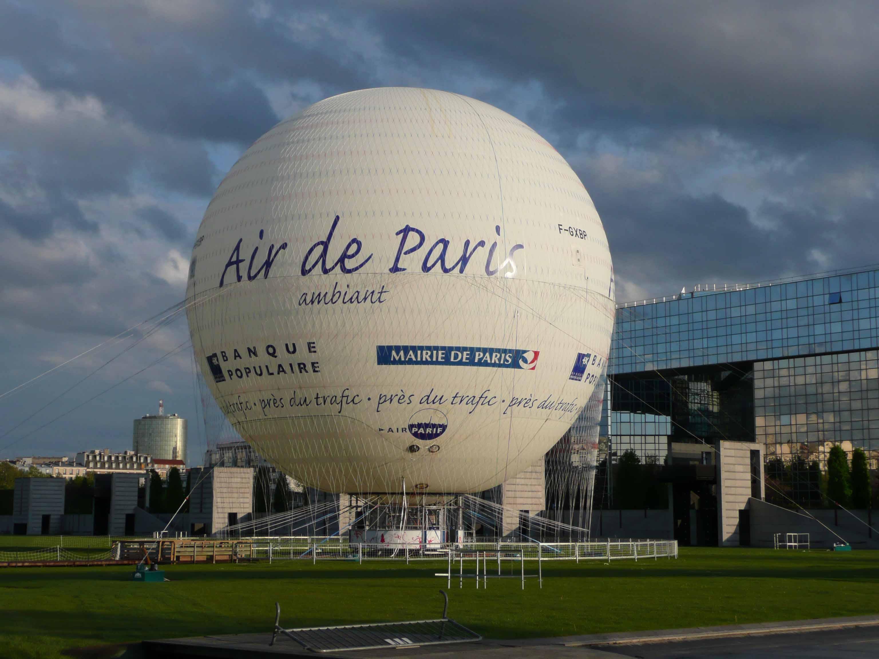 Paris: Hot Air   Chunnel Vision