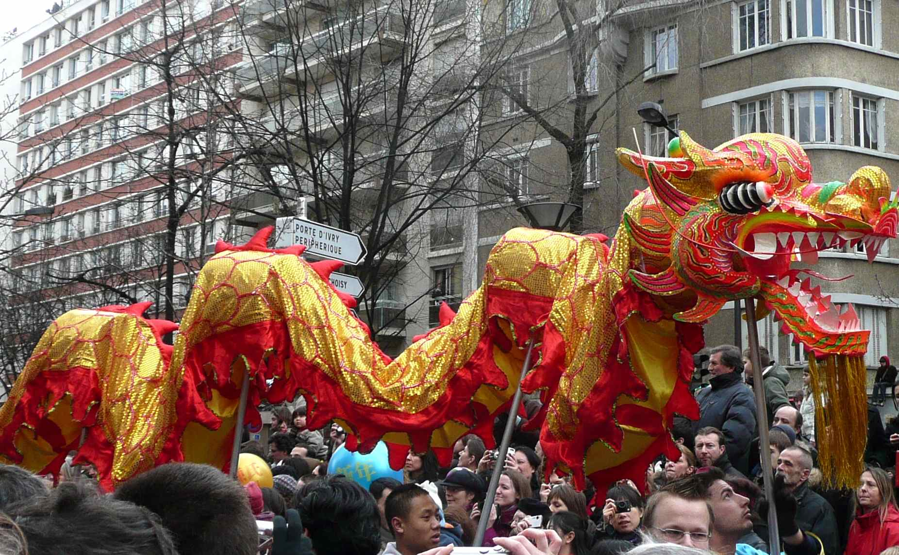 Paris: Chinese New Year | Chunnel Vision